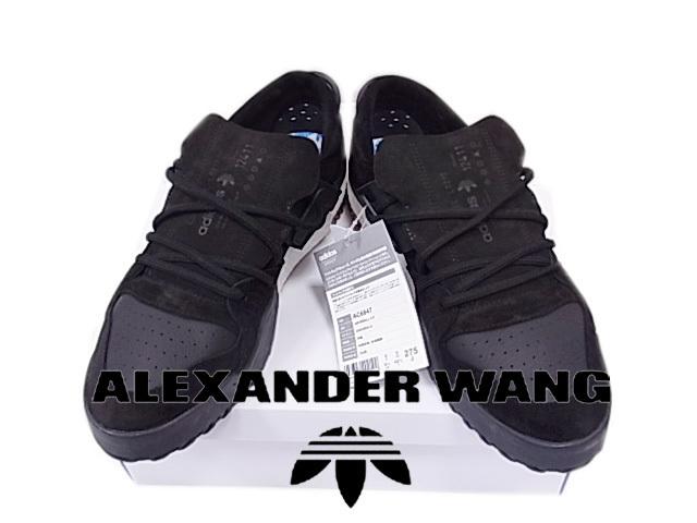 【未使用】タグ付◇アディダス×アレキサンダー ワン BBALL(ビーボール)スニーカー ブラック 2017年 AC6847 ALEXANDER WANG /adidas