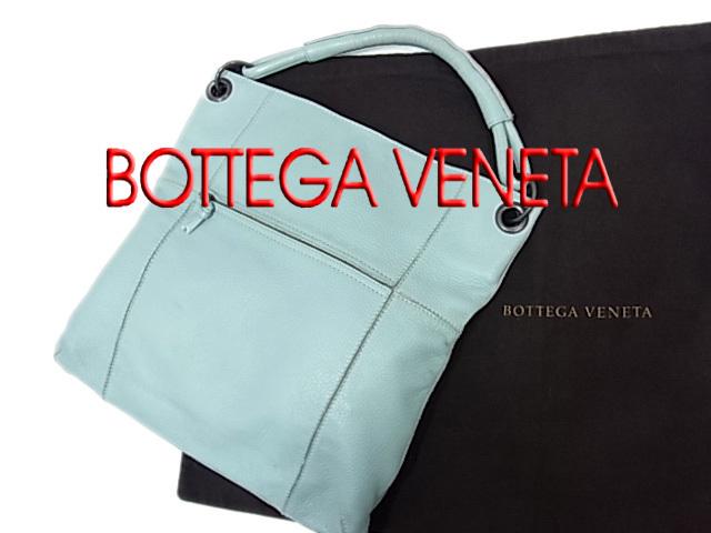 【中古】◇ボッテガヴェネタ◇イントレチャート レザーショルダーバッグ イタリア製 保存袋付き BOTTEGA VENETA 正規品 人気モデル