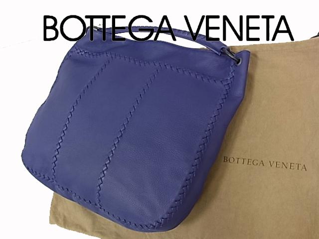 【中古】◇美品◇ボッテガヴェネタ◇ショルダーバッグ ハンドバッグ イントレチャート 保存袋付き BOTTEGAVENETA イタリア製
