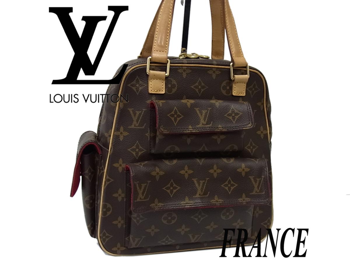 【中古】☆フランス製 ルイヴィトン モノグラム ハンドバッグ エクサントリ・シテ レディース LOUIS VUITTON 鞄 正規品