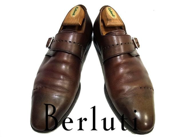 【中古】◇最高峰◇ベルルッティ  Berluti◇レザーシューズ  ビジネスシューズ 革靴  メンズ