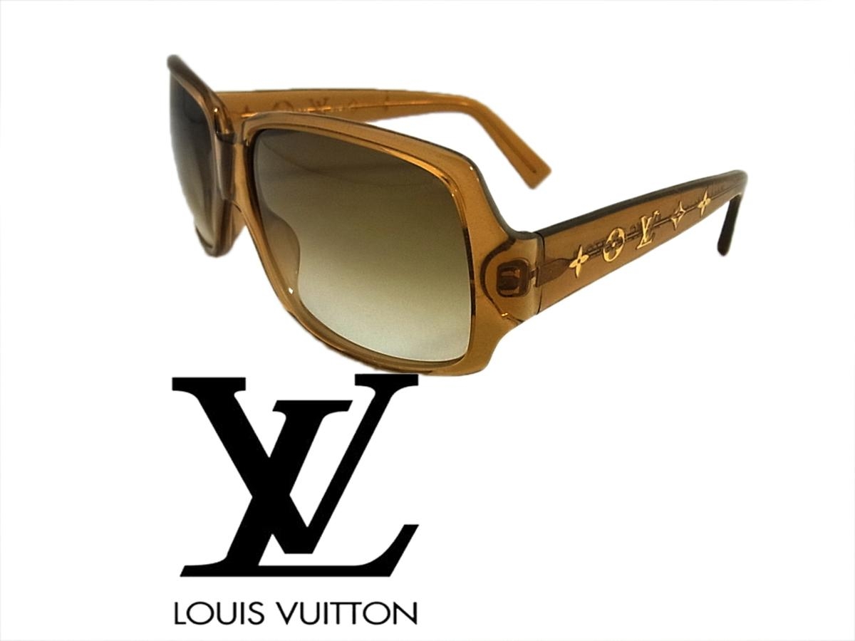 【中古】イタリア製 高級 LV◇ルイヴィトン モノグラムフラワー サングラス