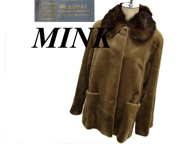 【中古】◇サガミンク SAGAMINK ROYALXセーブル 毛皮コート