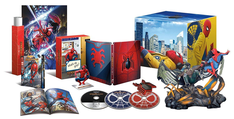 スパイダーマン:ホームカミング プレミアムBOX(2D+3D+4K ULTRA ULTRA HDブルーレイ)(村田雄介描き下ろし 日本限定B3ポスター封入)(初回生産限定) [Blu-ray] [Blu-ray], Garden75:01173328 --- ww.thecollagist.com