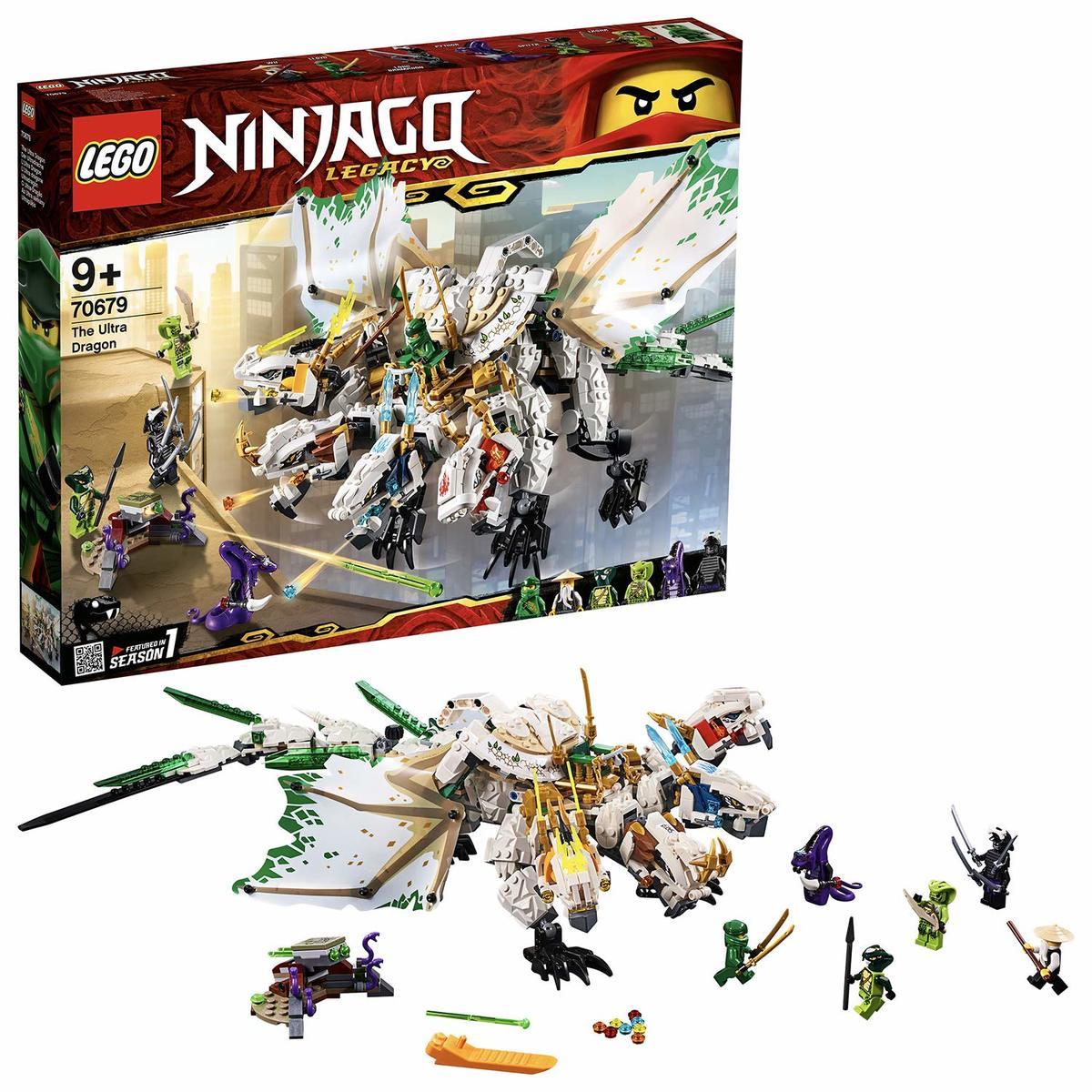 レゴ(LEGO) ニンジャゴー 究極のウルトラ・ドラゴン:アルティメルス 70679