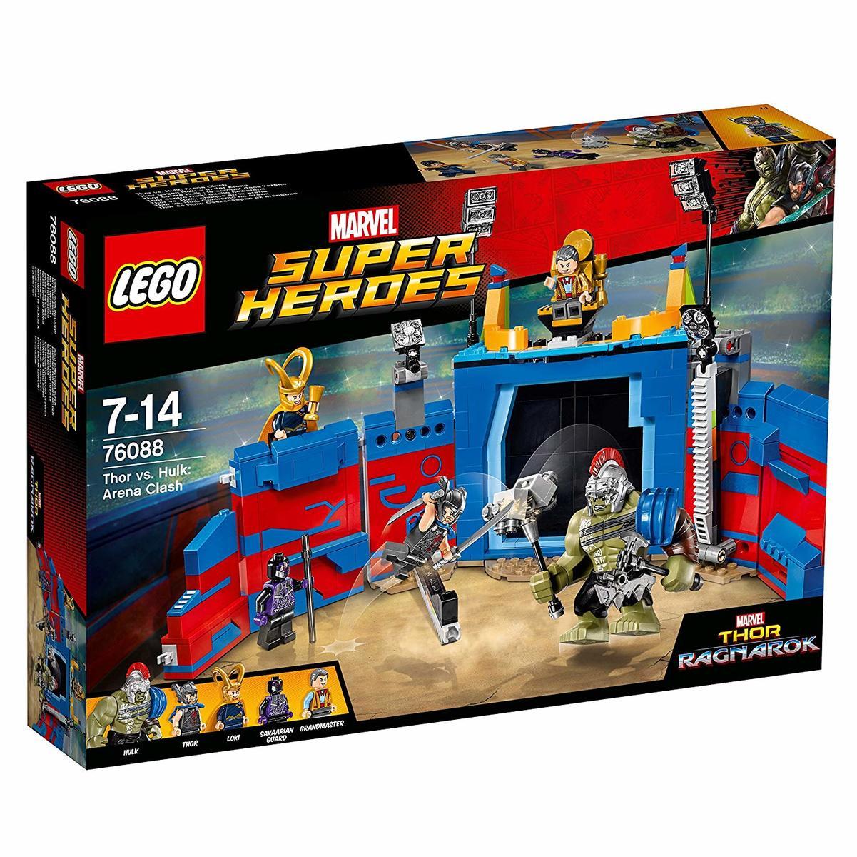 レゴ(LEGO)スーパー・ヒーローズ ソー vs.ハルクアリーナクラッシュ 76088[並行輸入品]
