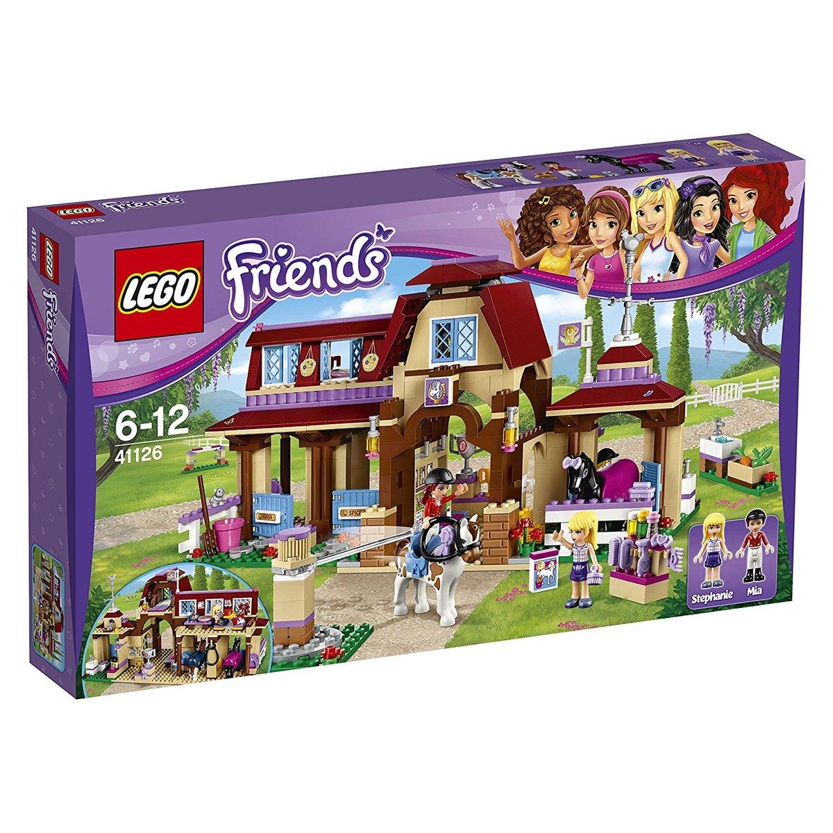 レゴ (LEGO) フレンズ ハートレイクの乗馬クラブ 41126[並行輸入品]