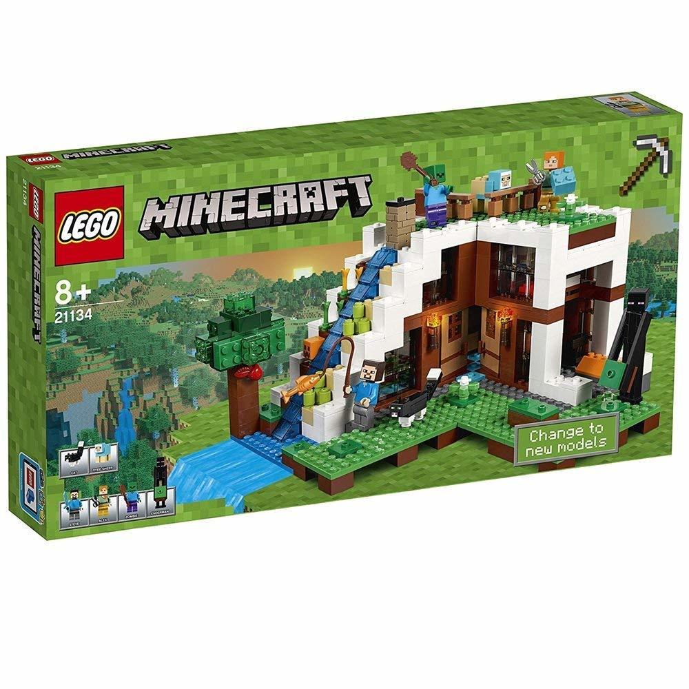LEGO レゴ マインクラフト 滝のふもと 21134 [並行輸入品]