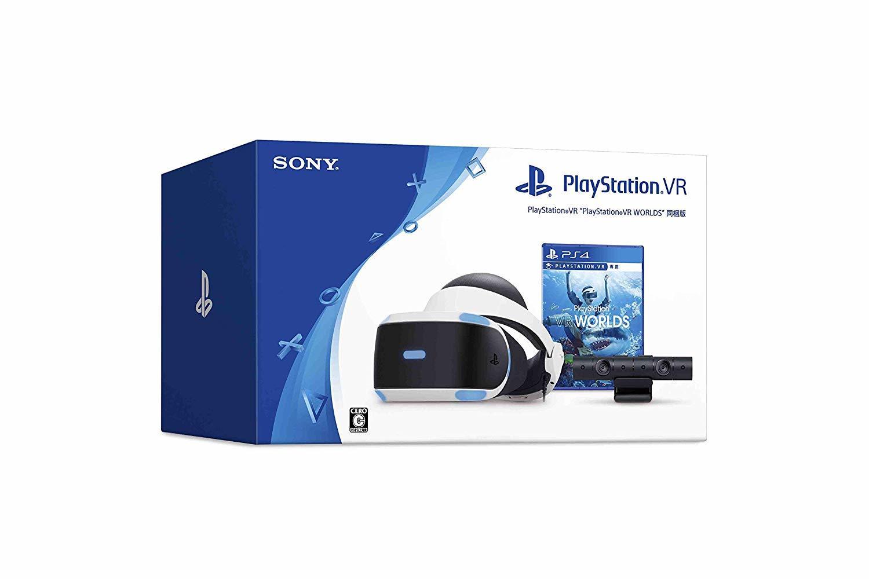 """★送料無料★※離島・一部地域は追加送料がかかる場合があります。 PlayStationVR """"PlayStationVR WORLDS"""" 同梱版"""