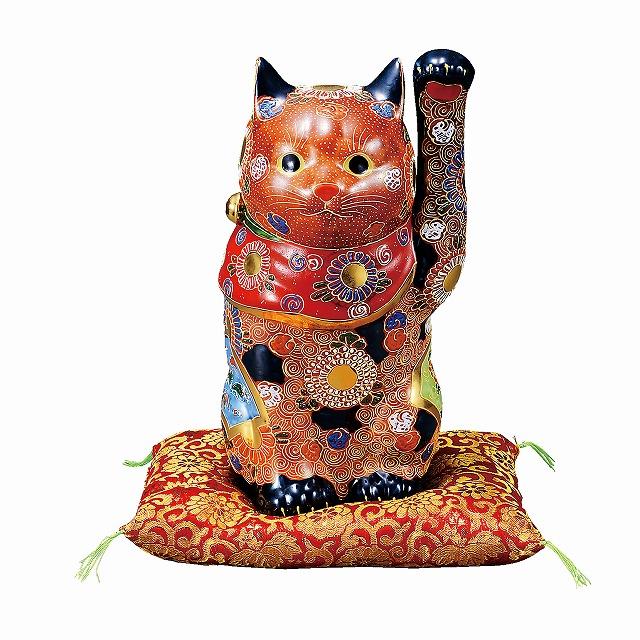 【九谷焼】 8号招き猫・盛