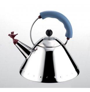 【ALESSI(アレッシィ)】 Bird Kettle(バードケトル) ブルー   ブランド通販    【創業明治元年 140年 変わらぬ真心】