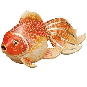 【九谷焼】 7号金魚 紅盛