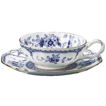 【NARUMI(ナルミ)】 ミラノ フレーバーティー碗皿  引き出物/内祝い/結婚祝い/誕生日祝い/出産祝い/記念品プレミアム・アート・ボンチャイナ 05P03Sep16