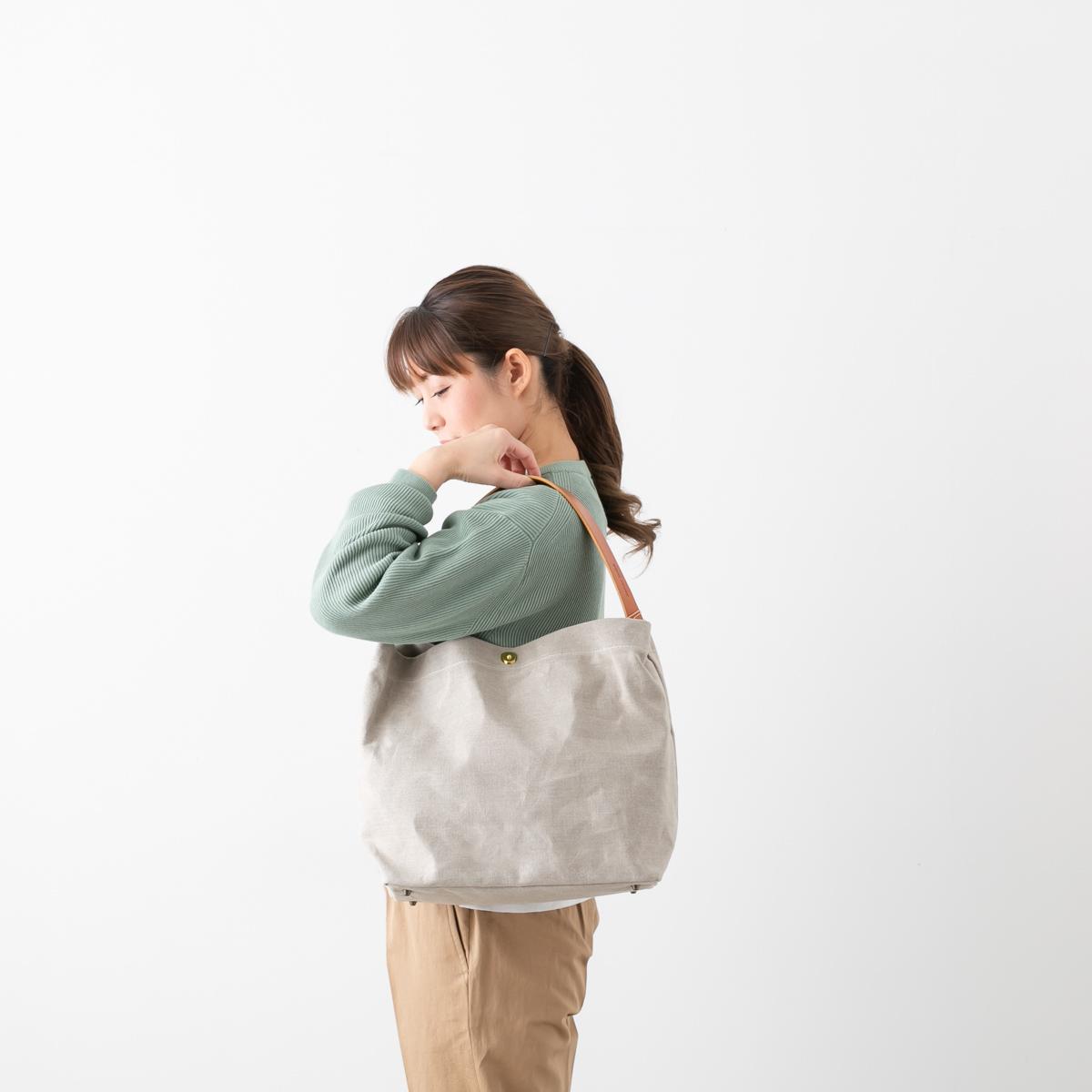 MARINEDAY マリンデイ リネン トート ショルダー 3色 MINIFISH