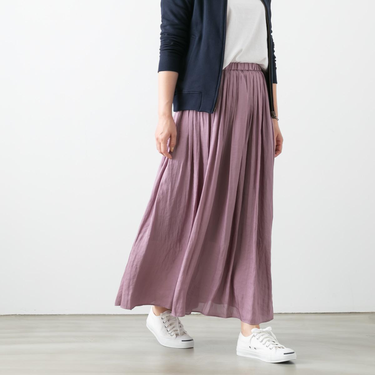 DONEEYU ドニーユ クチュール ビンテージ 結婚祝い プリーツ U-2750 6色 スカート ロング NEW