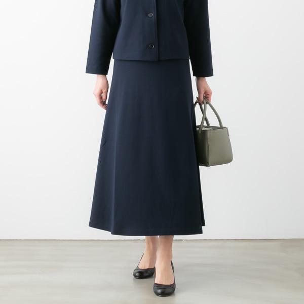 SARAHWEAR サラウェア Peal Jersey ジャージー Aライン スカート 2色 C91230