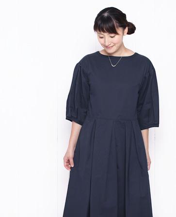 GRANDMA MAMA DAUGHTER グランマ・ママ・ドーター チノ プリーツ ワンピース ドレス 2色 92173117