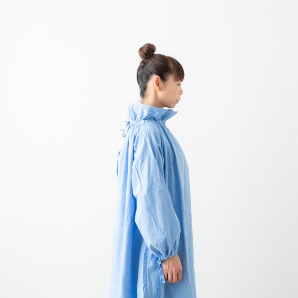 yarmo ヤーモ オーバー スモック ドレス Over Smock Dress 3色 YAR-19AW OP17