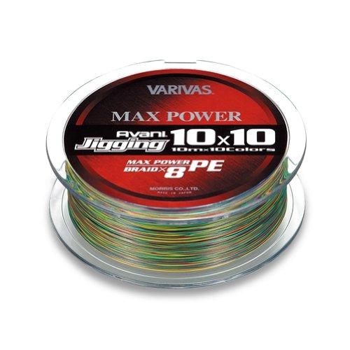モーリス(MORRIS) PEライン バリバス アバニ ジギング10x10 マックスパワー 300m 2号 MAX33lb
