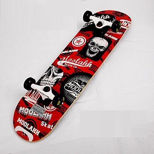 【FASTAM】高品質スケートボード/31インチ テールキック メープルデッキ 【ABEC-9ベアリング採用】 (603-8)