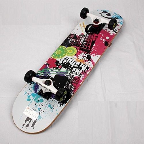 【FASTAM】高品質スケートボード/31インチ テールキック メープルデッキ 【ABEC-9ベアリング採用】 (604-15)