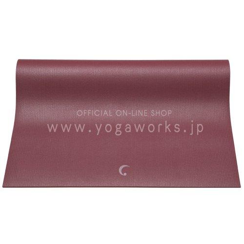 ヨガワークス(Yogaworks) プラネット サダナ4.2mm バーガンディ YW-A109-C008