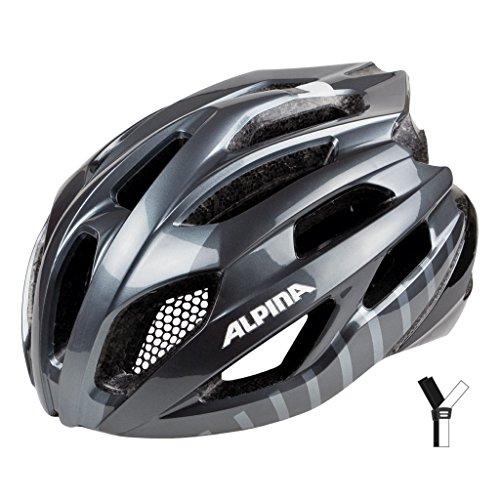 ALPINA(アルピナ) ヘルメット ALPINA FEDAIA ドイツ製 A9717330 チタニウム/ブラック 58-63cm