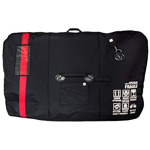 GORIX(ゴリックス) ロードバイク 輪行袋 [車載・飛行機・航空輸送向き] キャリングバッグ 自転車 クロスバイク マウンテンバイク 輪行バッグ GX-Ca1 (レッド)