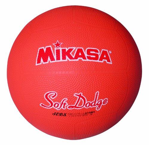 ミカサ ソフトドッジボール1号 軽量180g オレンジ 日本ドッジボール協会推薦球 小学校用 STD-1R O:Blueberry