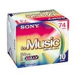 SONY 10CRM74CRAX CD‐R AUDIOrshCQtd