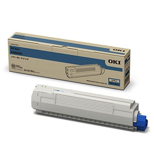 OKI トナーカートリッジ 高品質新品 シアン TNR-C3PC1 お買い得品 MC862dn MC862dn-T