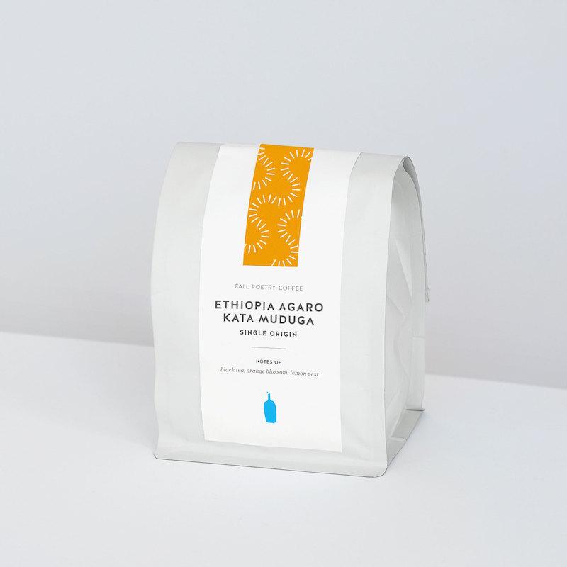 ブルーボトルコーヒー Blue Bottle Coffee エチオピア ブランド品 アガロ カタ ムドゥガ Poetry Single Ethiopia Fall Kata ランキングTOP5 Muduga Agaro Origin