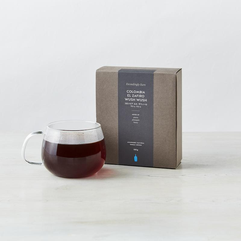 ファッション通販 ブルーボトルコーヒー Blue Bottle Coffee Seasonal Wrap入荷 コロンビア エル ザフィーロ Zafiro Wush ウシュ El Colombia