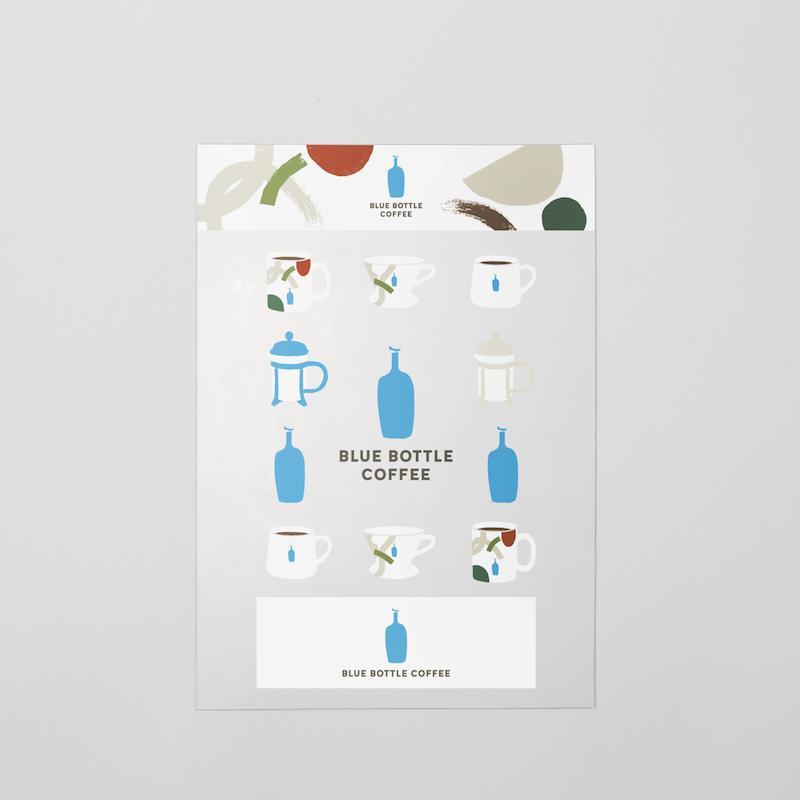 ショップ ●日本正規品● ブルーボトルコーヒー Blue Bottle Coffee ホリデー ステッカー
