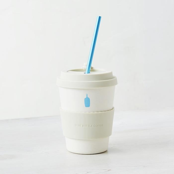 格安SALEスタート ブルーボトルコーヒー Blue Bottle エコカップとオリジナルストローのセット 卸直営 Coffee