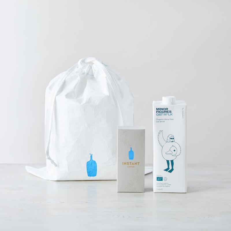 ブルーボトルコーヒー 新作からSALEアイテム等お得な商品満載 信憑 Blue Bottle Coffee オーツミルクとインスタントコーヒーのセット