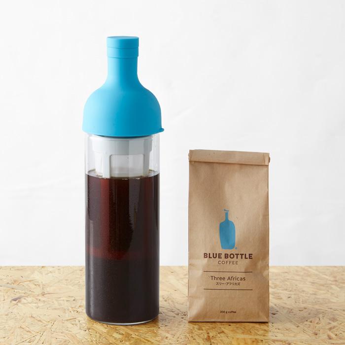 コールドブリューキット|アイスコーヒー コールドブリュー  水出し  ハリオ フィルターインボトル  水出し hario  ガラス 保存 容器 コーヒー アイスコーヒー ギフトセット 限定品 コーヒー豆 珈琲豆 自社焙煎 スペシャリティ ブルーボトルコーヒー BlueBottleCoffee