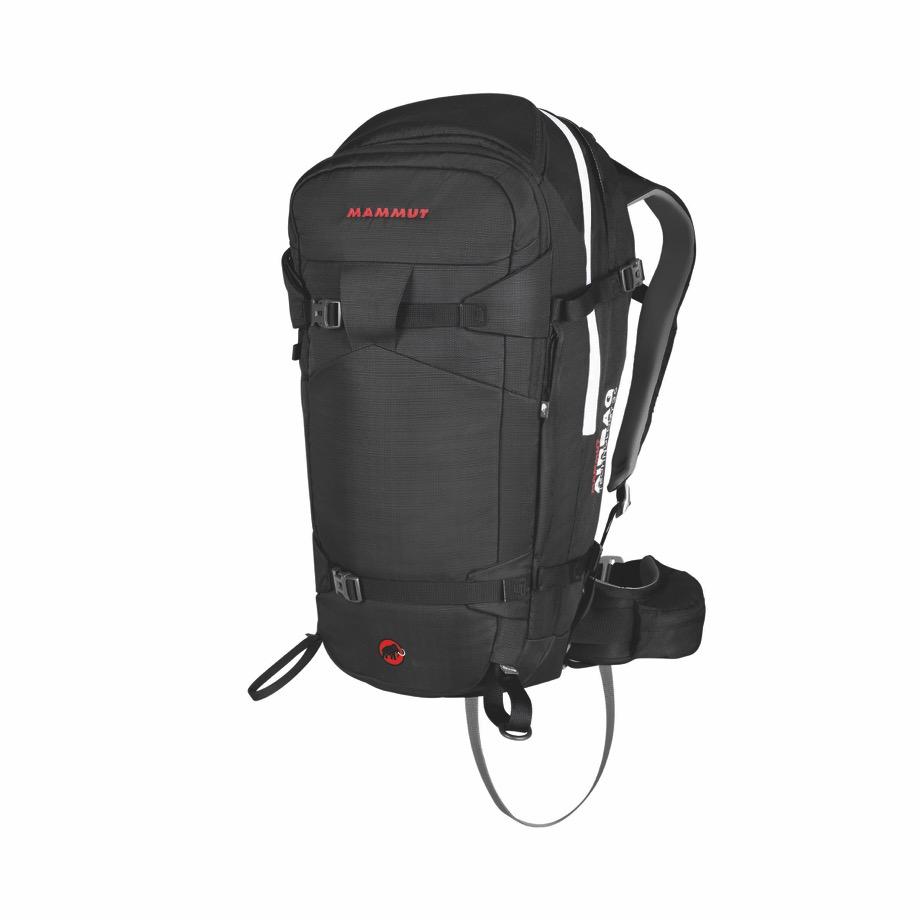 【アウトレット】マムート(Mammut) Pro Removable Airbag 3.0 プロリムーバブルエアバッグ3 45L ブラックカラー アバランチエアバッグ シリンダー別売