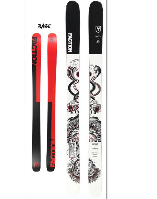 2019 FACTON ファクションスキー PRODIGY3.0 COLLAB 183cm プロディジー3.0