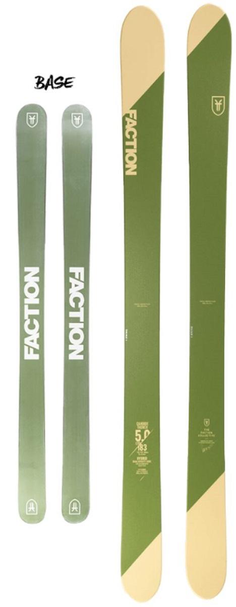 2019 FACTON ファクションスキー CT 5.0 183cm 152/122/140 MM