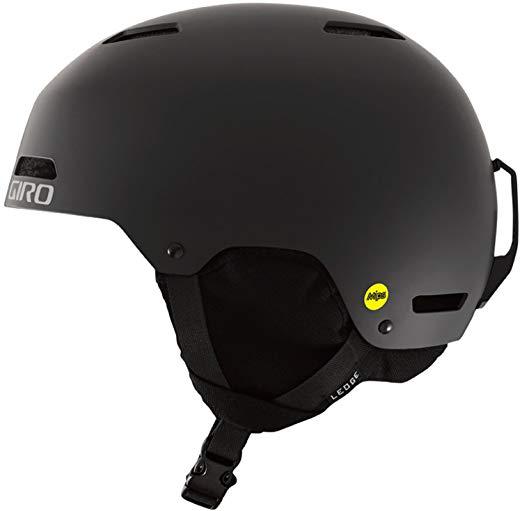 アウトレット GIROジロ 2019 LEDGE MIPS レッジ ミップス マットブラック スノーボードヘルメット Matte Black Lサイズ