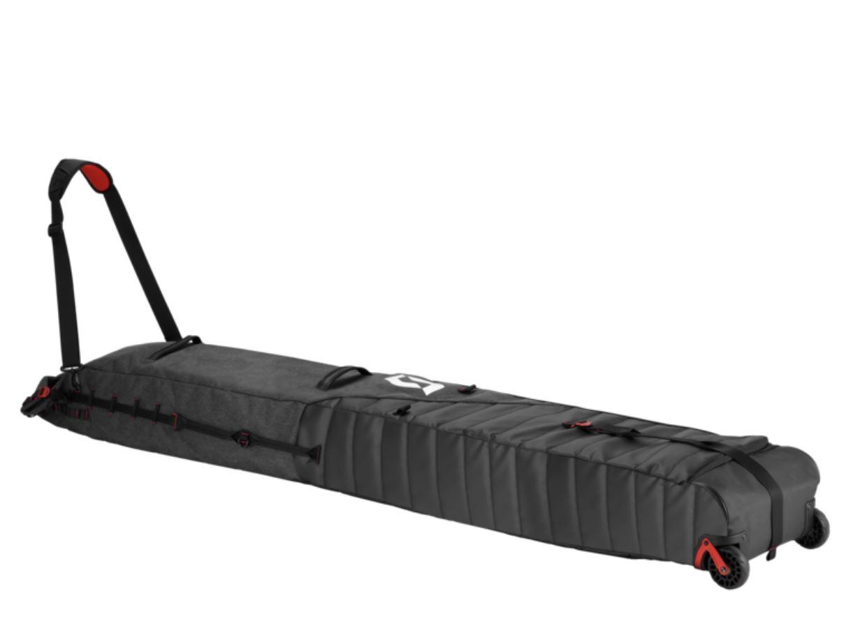SCOTT スコット スキーホイールプレミアムバッグ SKI WHEEL PREMIUM BAG コンパクトなダブルスキーホイールバッグ 重量2,000g