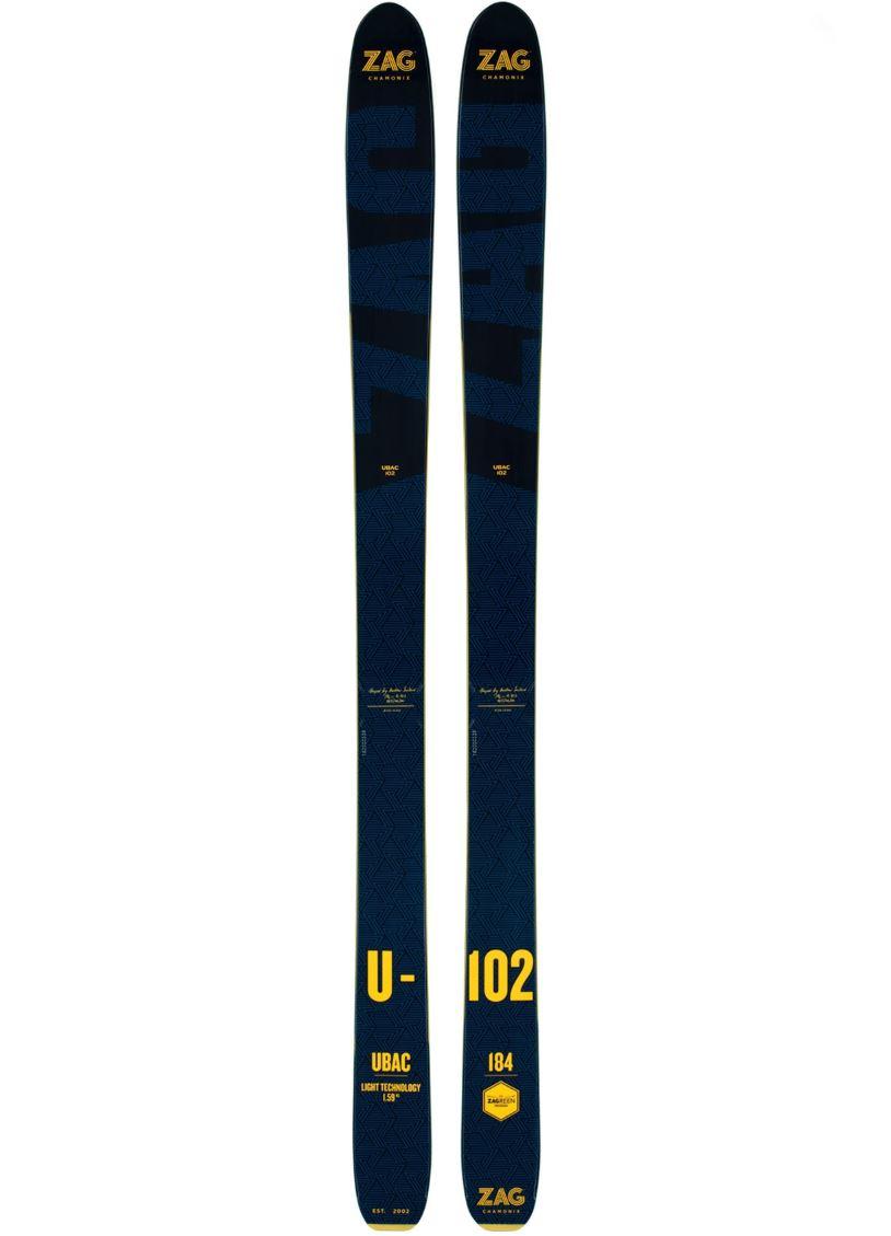 SKIS 176cm ウバック102 ロッカースキー ザグスキー UBAC102