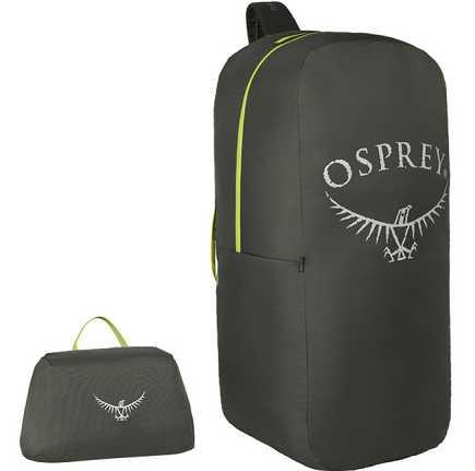 飛行機等でのパックの保護カバー エアポーター 信託 S シャドーグレー P5 オスプレー 全品送料無料 S=50リットル以下 OSPREY