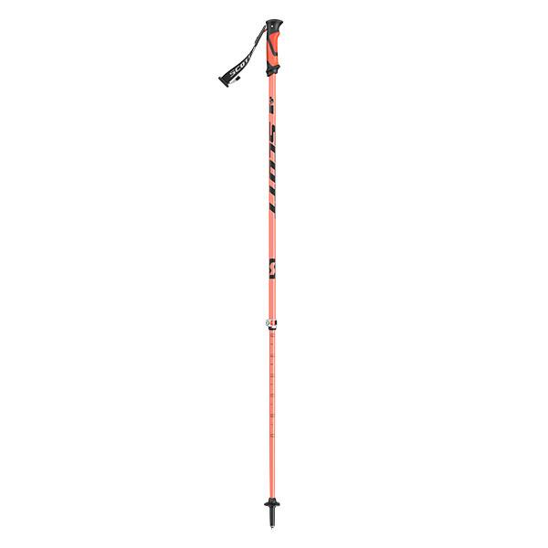 バックカントリースキー特有の軽量モデルでセイフティーリリースストラップ 格安店 S.R.S システムを搭載し サイズも100-125cmと115-140cmの2種類から選べます スコット SCOTT RIOT 16 購買 オレンジ SKI スキーポール 2セクションスキーストック 2パート ライオット16 POLE