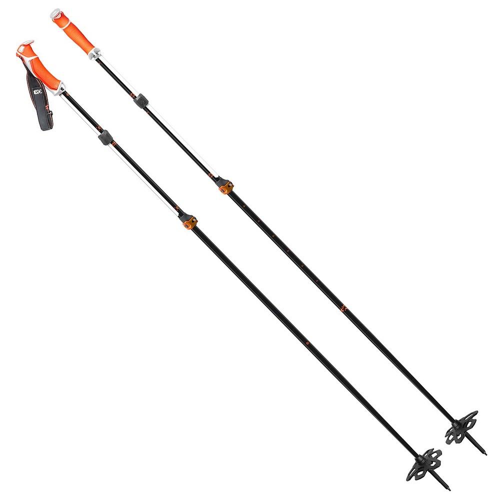 G3 VIA CARBON ビアカーボン オレンジ 95-125cm(S)/115-145cm(L) カーボン製伸縮タイプスキーポール