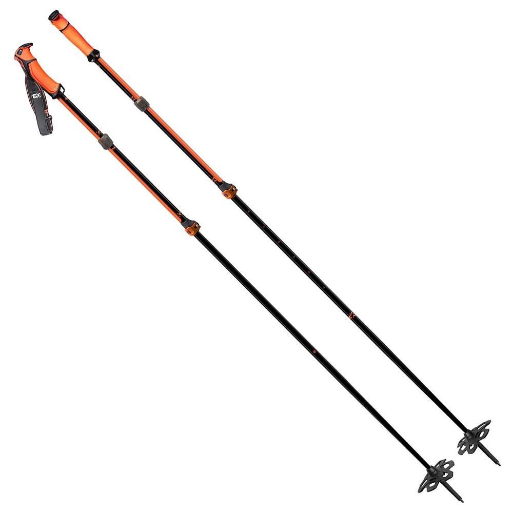 G3 VIA ビア オレンジ 95-125cm(S)/115-145cm(L)  アルミ製伸縮タイプスキーポール