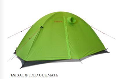【ポイント5倍~7/30】3シーズン山岳テント エスパース・ソロ アルティメイト 1人用3シーズン (フライシート付)
