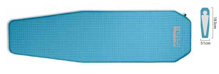 携帯マット ニーモエクイップメント(nemo equipment) ZORゾア R レギュラー ブルー