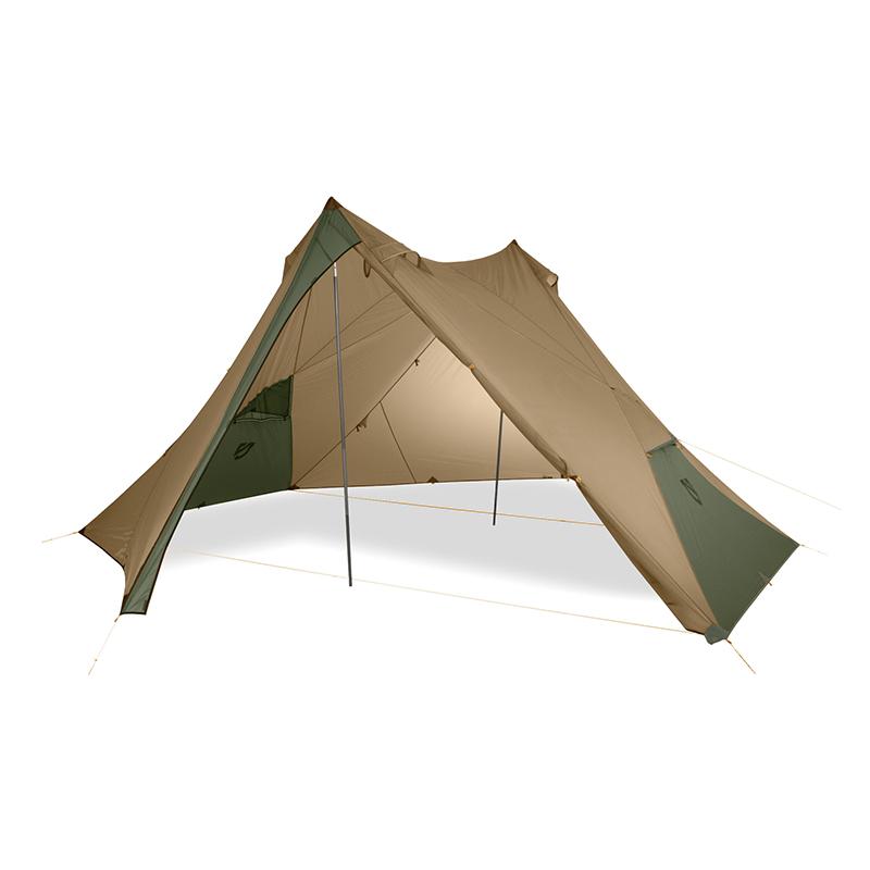 NEMO(ニーモ・イクイップメント) ヘキサライト6P キャニオンカラー Hexalite 6P(nemo equipment)キャンプ フェス グランピング 大型タープ 焚き火   タープ シェルター テント タープテント ヘキサ ヘキサタープ 簡単 キャンプ用品 アウトドア 大型 おすすめ